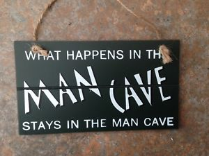Man Cave - Hanging Sign