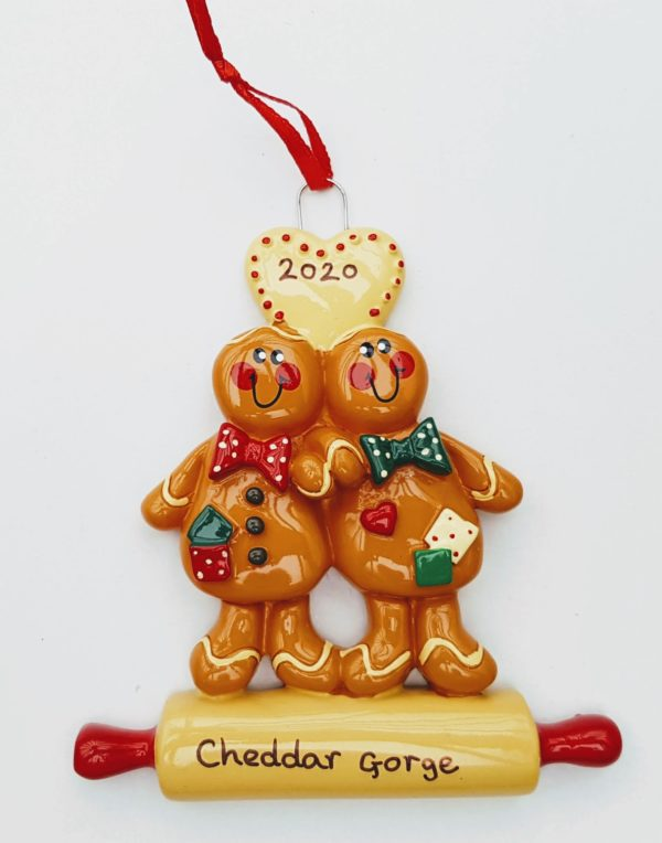 Cheddar Gorge gingerbread couple