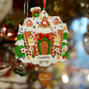 Cheddar Gorge Gingerbread House Hanging Decoration