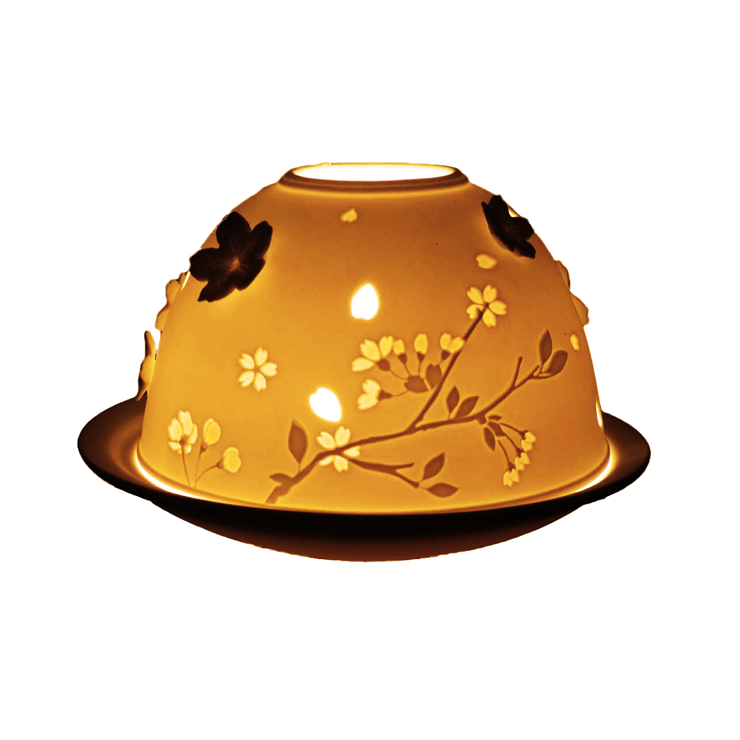 Light-Glow 3D Flowers Tealight Candle Holder