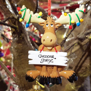 Cheddar Gorge Christmas Moose