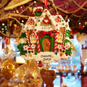 Cheddar Gorge Gingerbread House 2019 Hanging Decoration