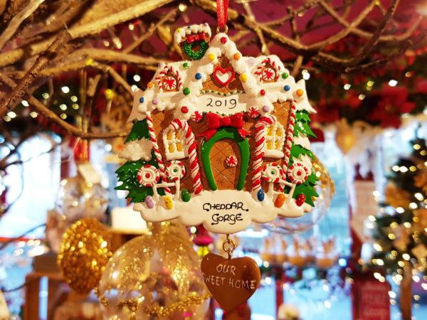 Cheddar Gorge Gingerbread House 2019 Hanging Decoration