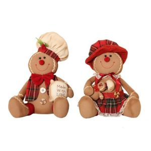 MR & MRS Gingerbread Sitting