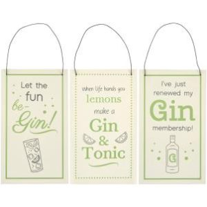 Gin lover signs