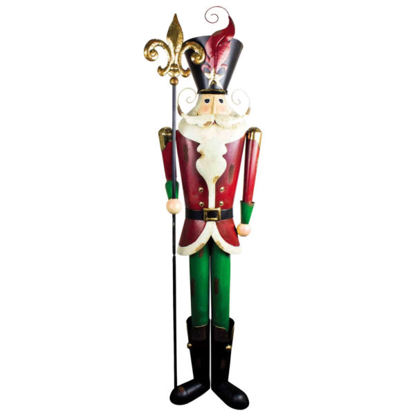 Tall metal Santaq