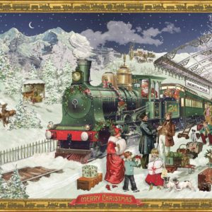Coppenrath Advent Calendar - The Christmas Express