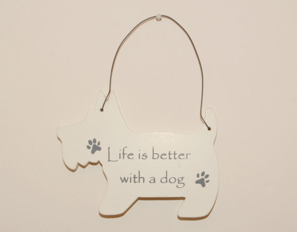 Mini Dog Signs - Life is better with a dog