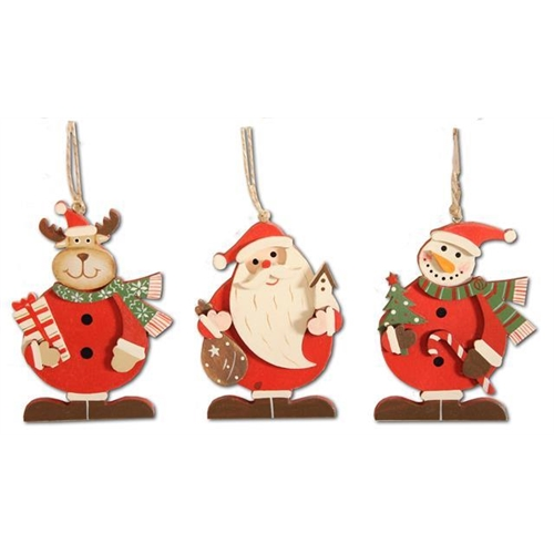 Christmas character hanging decoration