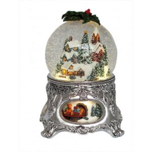 Mountain Village Snowglobe