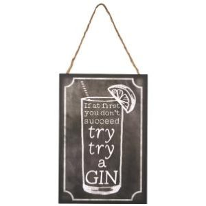 Try a Gin - Hanging Sign