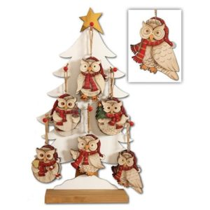Twit Twoo Owl Hanging Decorations