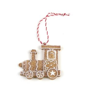 Gingerbread Hanging Train