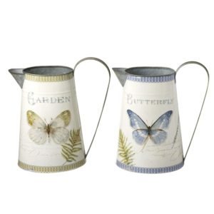 Cream Butterfly Jug