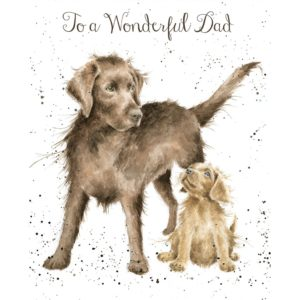 'Wonderful Dad' card