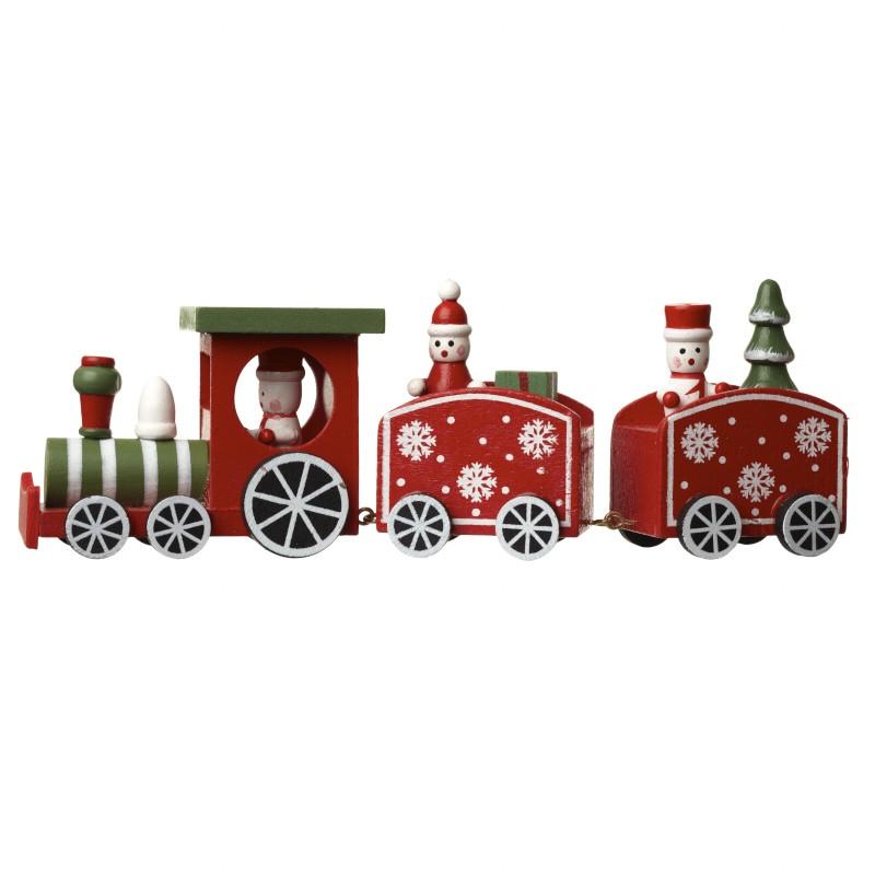 Wooden Train Decoration