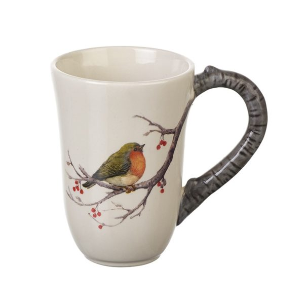 Robin Design Ceramic Mug