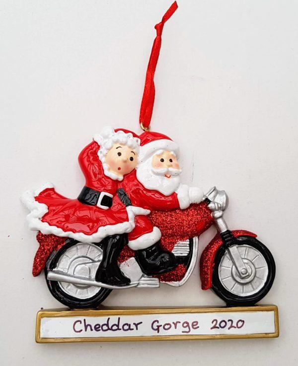 Cheddar Gorge Motorbike