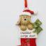 Cheddar Gorge dog stocking