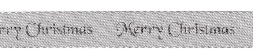 Merry Christmas Cake Ribbon 1m x 25mm