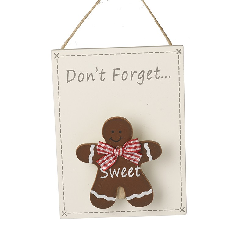 Don't Forget Gingerbread Man