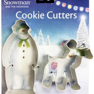 The Snowm and Snowdog Cookie Cutter Sett