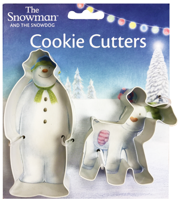 The Snowm and Snowdog Cookie Cutter Sett