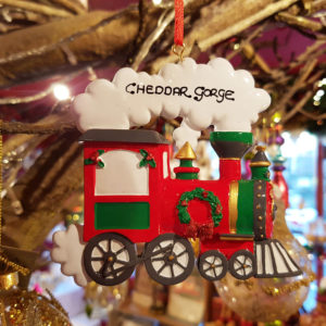 Cheddar Gorge Festive Train Hanging Decoration