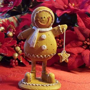 Freestanding Gingerbread Boy - Small