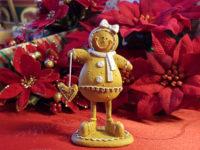 Freestanding Gingerbread Girl - Small