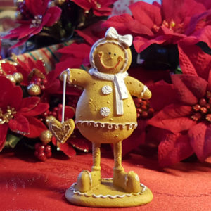 Freestanding Gingerbread Girl - Small