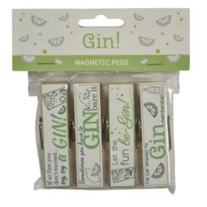 Gin pegs - set of 4