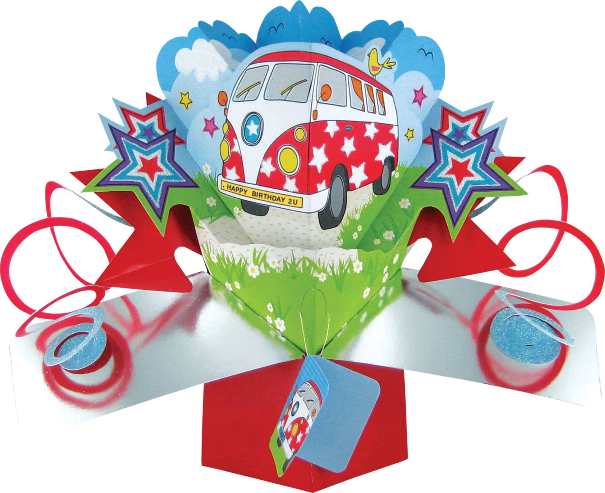Happy Birthday 3D Pop Up Card