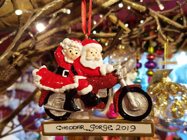 Cheddar Gorge 2019 Mr and Mrs Claus Hanging Decoration