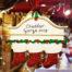 Cheddar Gorge White Mantle 3 Stockings Hanging Decoration 2019