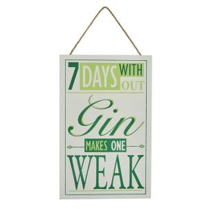 7 days without Gin... sign