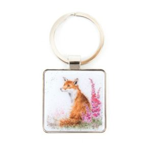 Wrendale_Fox_Keyring