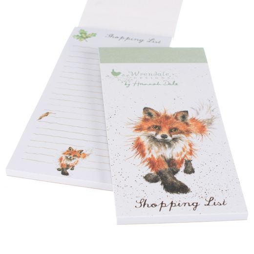 Wrendale_Fox_Shopping_PadWrendale_Fox_Shopping_Pad
