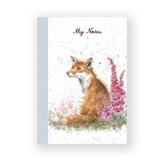 Wrendale_Foxgloves_A6_Notebook