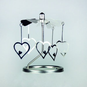 Carousel propeller set - hearts
