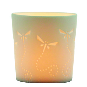 Votive tealight holder - Dragonfly