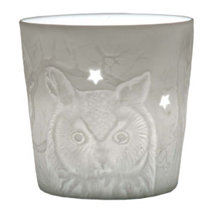 Votive tealight holder - Owls