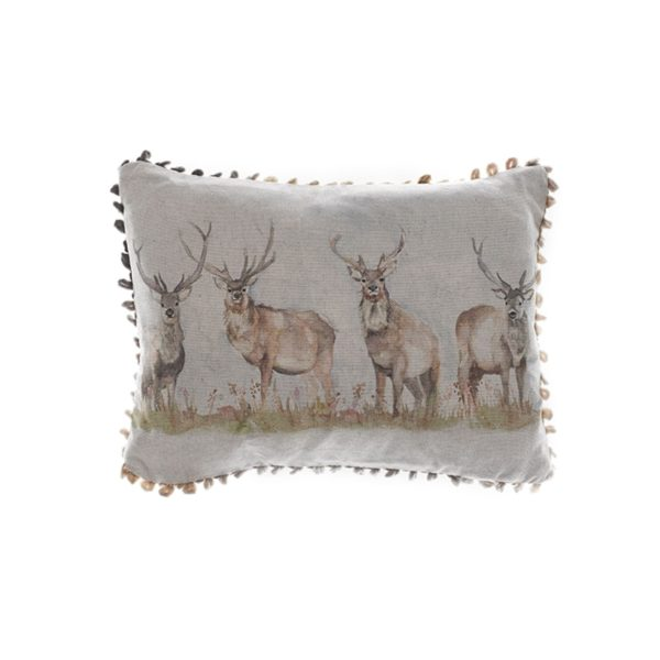 Voyage Maison Moorland Stag Cushion