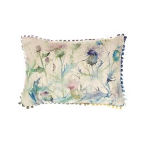 Voyage Maison Damson Bristle Linen Print Cushion