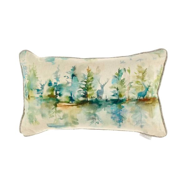 Voyage Maison Wilderness Topaz Cushion