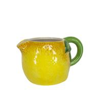 small ceramic lemon jug