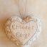 Cheddar Gorge beaded heart