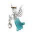 Loving Glass Angel Blue Zircon