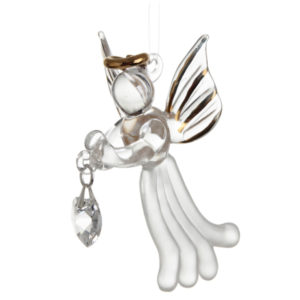 Loving Glass Angel Crystal