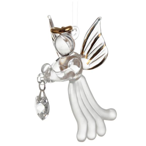 Loving Glass Angel Crystal